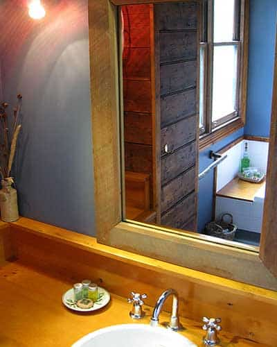 Huon Pine features throughout the Cottage